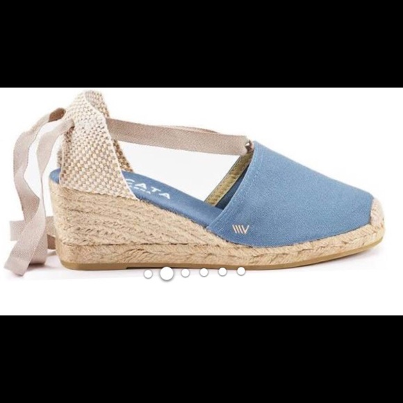 b9bbc546db Viscala Shoes | Viscata Escala Ankle Tie Espadrille Wedge 41 10 ...